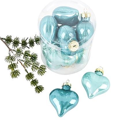 Weihnachtskugel-Herz-Premium-10er-Set-Glas-6x5x3cm-Xmas-Baumschmuck