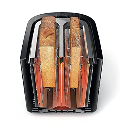 Philips-HD2637-Toaster7-Stufen-Brtchenaufsatz-Stopp-Taste-1000-W