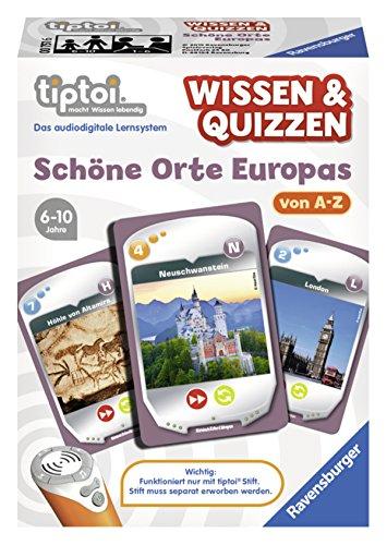 Ravensburger-00751-tiptoi-Spiel-Wissen-Quizzen-Schne-Orte-Europas