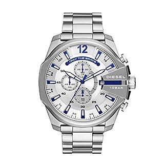 Diesel-Herren-Chronograph-Quarz-Uhr-mit-Edelstahl-Armband-DZ4477