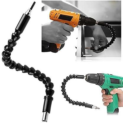 bodhi2000-Flexibler-Schaft-Bohrer-Verlngerung-1102-cm-Hex-Drive-Power-Tools-Schraubendreher-Set-Extender