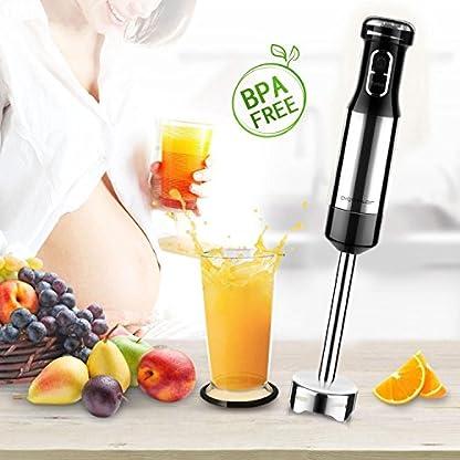 Aigostar-Speedy-30JIL-Stabmixer-mit-Zubehr800-W-edelstahl-Mixfu-fr-Smoothie-Suppen-und-Babynahrung-schwarzedelstahl
