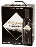Diamond-Hill-Shiraz-Merlot-Rotwein-135-Vol-3l-Bag-in-Box