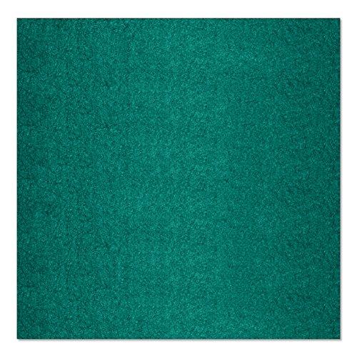 SIMON PIKE echter Filz in smaragd aus 100% reinem Wollfilz, Filzplatte zum nähen 50 cm x 45 cm (2mm dick) aus Filzwolle ideal als Bastelfilz oder Taschenfilz