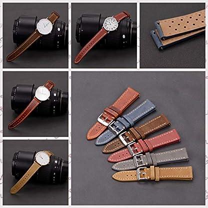 Uhrenarmbnder-mit-Schnellverschluss-echtes-Leder-fr-Mnner-und-Frauen-18-mm-20-mm-22-mm-mehr-Farben
