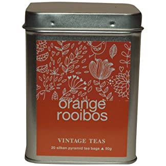 Vintage-Teas-Rotbuschtee-mit-Orange-20-Pyramidenbeutel-in-Metalldose-2er-Pack-2-x-50-g