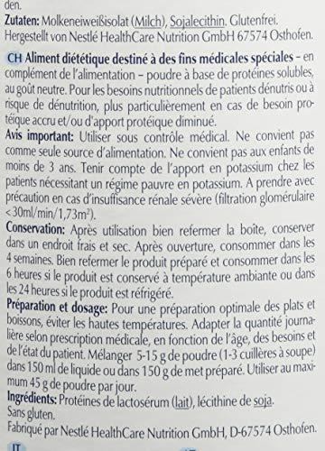 Nestlé Health Science RESOURCE whey protein, Molkeneiweißisolat-Pulver mit 88% Molkenproteingehalt, für kalte Speisen & Getränke, geschmacksneutral, 6er Pack (6 x 300 g)