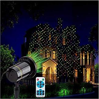 Projektor-LichtHelle-Wasserdichte-RedGreen-Landschaft-Lichter-Remote-Auto-EINAus-Timer-fr-Halloween-Feiertag-Thema-Partei-Hochzeit-Nachtklub-Hof-und-GartendekorationenVerbesserte-Version