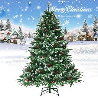 CYWYQ-Knstliche-WeihnachtsbaumPremium-Scharnier-Fichte-Dekorierte-Christbaum-Auto-ausbreitung-Volle-Baum-Solide-Metall-stnder