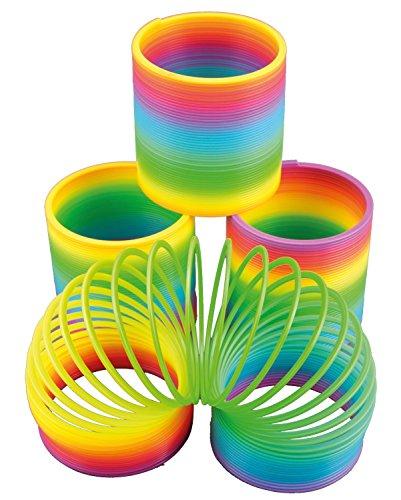 Riesige-Regenbogen-Spirale-fr-Party-und-Geburtstag-105cm-Durchmesser-Treppenlufer-Kinder-Geburtstag-Party-Spiel-Mitgebsel-Geschenk