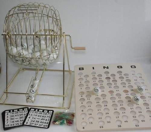 HOT-Groes-Bingo-Spiel-50-cm-komplett-mit-Zubehr