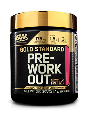 Optimum Nutrition Gold Standard Pre-Workout Watermelon, 330 g