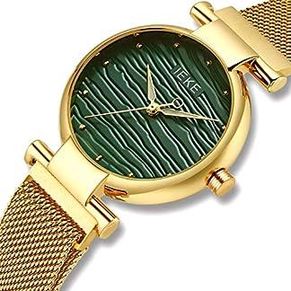 CIVO-Damen-Uhren-Edelstahl-Damen-Uhr-Wasserdicht-Mode-Elegant-Luxus-Golden-Armbanduhren-Lssig-Beilufig-Quarzuhr-fr-Frau-Lady-Teenager-Mdchen
