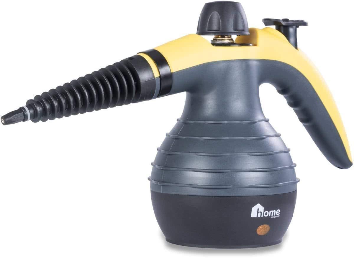 POWER-2000-OVM-Handdampfreiniger-Gelb-Schwarz-Dampfreiniger-Handdampfer-Dampfente-Steam-cleaner