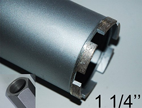1-UNC-Diamantbohrkrone-Kernbohrkrone-Kernbohrer-DM-140-mm-L-400-mm