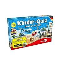 Noris-Spiele-606011630-Kinderquiz-Rund-um-die-Welt-Kinderspiel