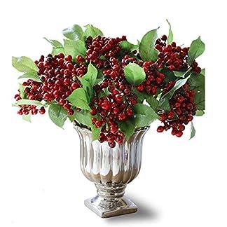 Felice-Kunst-mit-knstlichen-Red-Berry-Stiele-Holly-mit-Beeren-und-Zuhause-die-fr-Festival-Weihnachten