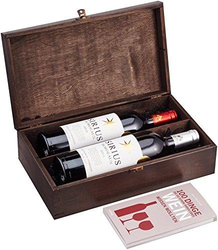 DKDS-Collection-Geschenkset-Bordeaux-exclusive-mit-Sirius-Rotwein-Sirius-Weiwein-und-Wein-Buch-in-edler-Weinkiste-2-x-075-l