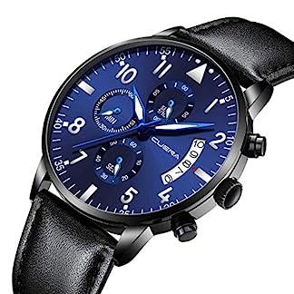 Armbanduhr-herren-Liusdh-Uhren-Leaderband-Herrenuhr-Multi-Dial-Quarz-Legierung-mit-Kalender-Business-uhr