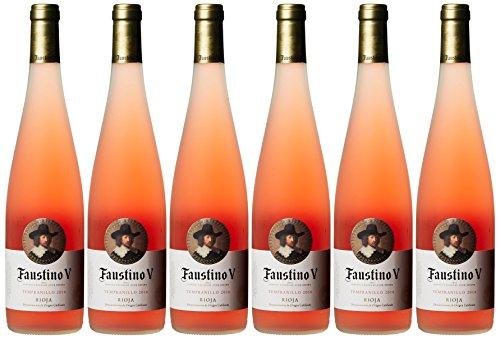 Faustino-V-Rosado-Rioja-Vinos-Tempranillo-Trocken-6-x-075-l