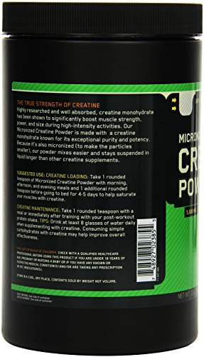 Optimum Nutrition Creatine Powder, 1er Pack (1 x 634 g)