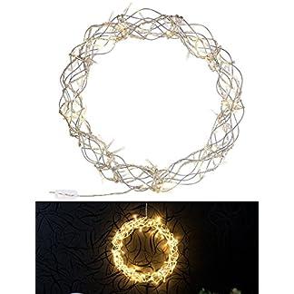 Lunartec-LED-Kranz-LED-Lichterkranz-fr-Fenster-Tren-uvm-90-warmweie-LEDs–30-cm-Lichterkranz-Weihnachten