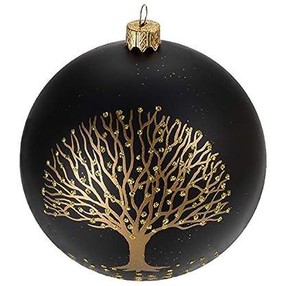 Multistore-2002-6-Stck-Weihnachtskugeln-8cm-2-Sorten-Schwarz-und-Wei-Glaskugeln-Weihnachtsbaumkugeln-Christbaumkugeln-Christbaumschmuck-Baumschmuck-Dekokugeln