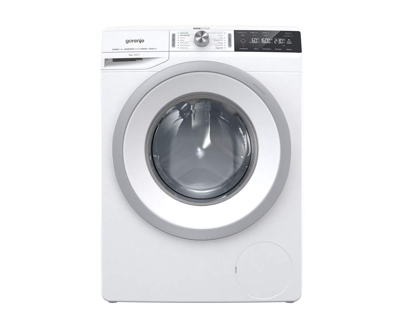 Gorenje-WA966T-Waschmaschine-freistehend-Frontlader-9-kg-1600-Umin-A-Wei-freistehend-Frontlader-drehbar-LED-64-l