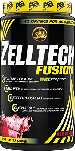 All Stars Zelltech Creatin Formula, Red Berry, 1er Pack (1 x 2000 g)