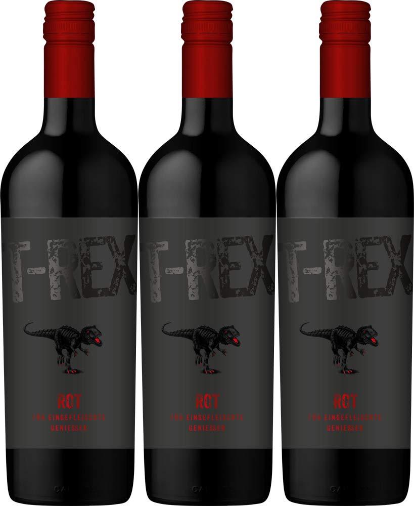 Lergenmller-T-Rex-Rotweincuve-2015-Trocken-3-x-075-l