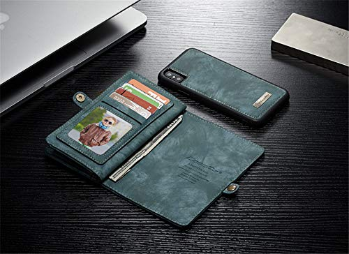 elecfan-iPhone-XS-Max-Handyhlle-Magnet-Flip-Wallet-Purse-Cover-Handyhlle-fr-Apple-iPhone-XS-Max