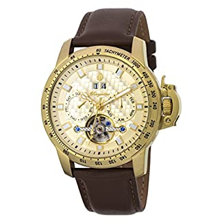 Burgmeister-Armbanduhr-fr-Herren-mit-Analog-Anzeige-Automatik-Uhr-und-Lederarmband-Wasserdichte-Herrenuhr-mit-zeitlosem-schickem-Design-klassische-Uhr-fr-Mnner-BM231-275-Fremont