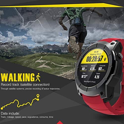 Smartwatch-Bluetooth-Uhr-Sport-Wasserdicht-Herzfrequenzmesser-Schrittzhler-Schlafanalyse-Kalorienzhler-GPS-2G-SIM-Karte-Anruf-Smart-Watch-kompatibel-Android-IOS-Handy-by-Seasaleshop