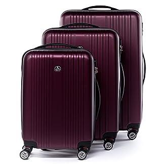 FERG-Koffer-Kofferset-Hartschale-Handgepck-L-XL-4-Rollen-Trolley-25-erweiterbar