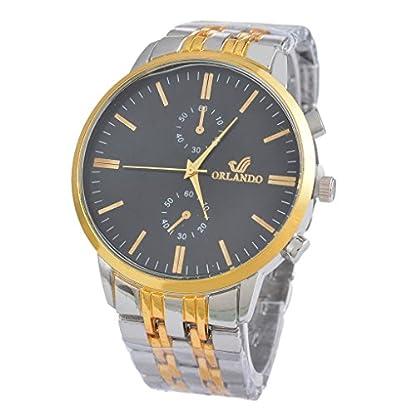 Souarts-Herren-Schwarz-Farbe-Armbanduhr-Edelstahl-Besondere-Zifferblatt-Quartz-Analog-Armreif-Uhr-mit-Batterie