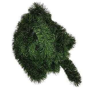 Ilkadim-1-Stck-Tannengirlande-ca-10m-lang-Dekogirlande-8-10cm-Girlande-Weihnachten
