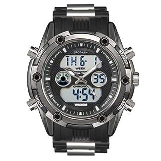 SPOTALEN-Herren-Sportuhr-Analog-Digital-wasserdichte-Uhren-fr-Herren-Military-Chronograph-Stoppuhr-Classic-Silikonband