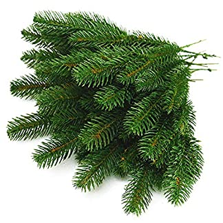 Yarssir-Lederpolster-Knstliche-Greenery-Kiefernholz-Nadel-Girlande-Picks-fr-Weihnachten-Holiday-Home-Decor-239-x-119-cm