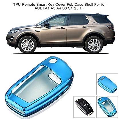 BEENZY-TPU-Fernbedienung-smart-Key-Cover-autoschlssel-Fall-TPU-schutzhlle-schlsselanhnger-Fall-Shell-fr-fr-Audi-a1-a3-a4-s3-s4-s5-tt