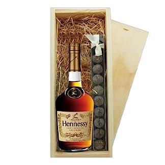 Hennessy-VS-3star-Cognac-Trffel-Holzkiste