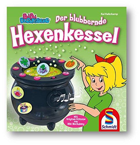 Schmidt-Spiele-40581-Bibi-Blocksberg-der-Blubbernde-Hexenkessel-Mehrfarbig