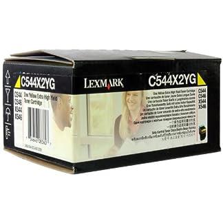 Lexmark-C544X2YG-C544-X544-Tonerkartusche-4000-Seiten-gelb