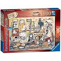 Ravensburger-Crazy-Cats-Vintage-No8–Go-Salvage-Jagd-1000-Teile-Puzzle
