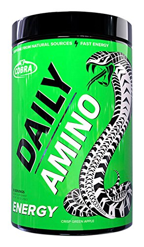Cobra Labs Daily Amino (30 servings ) – Crisp Green Apple, 255 g