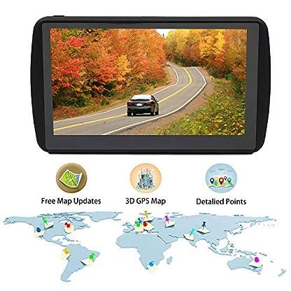 Aonerex-Navigationsgert-Auto-Navigation-GPS-7-Zoll-Touchscreen-Navigationsystem-mit-Lebenslangen-Kostenlosen-Kartenupdates-fr-EU-52-Lndern-POI-Blitzerwarnung-Sprachfhrung
