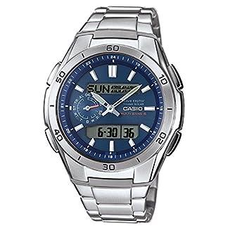 Casio-Wave-Ceptor-Herren-Armbanduhr-AnalogDigital-Quarz-mit-Edelstahl-massiv-Armband–wva-m650d