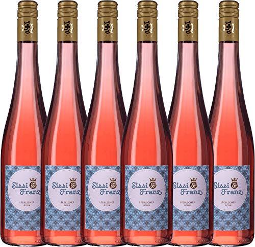6er-Paket-Sissi-Franz-liebliches-Ros-2017-Weingut-Hammel-lieblicher-Roswein-deutscher-Sommerwein-aus-der-Pfalz-6-x-075-Liter