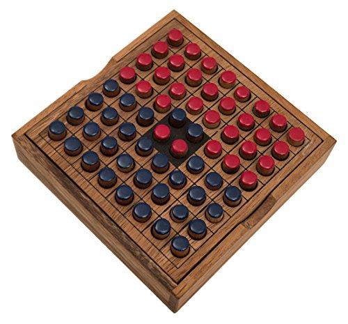 ROMBOL-Reversi-Interessantes-Strategiespiel-fr-2-Personen-inkl-Praktischem-Verschlussband