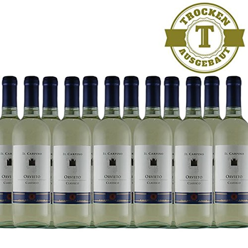 Weiwein-Italien-IL-CARPINO-Orvieto-Classico-2016-trocken-12x075l-VERSANDKOSTENFREI