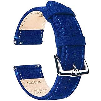 BE-Schnellverschlu-Uhrenarmbnder-Nubukleder-Wildleder-Armband-Ersatband-fr-Herren-Damen-Watch-Bands-Strap-fr-Traditionelle-Intelligente-Uhren-Breite-18mm-20mm-22mm-Erhltlich